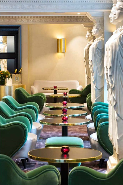 Kerylos intérieurs gives the avenue brussels a fresh new look