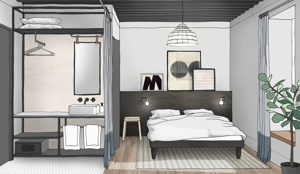 Ennismore group to launch new budget hotel concept noco for Hotel design concept