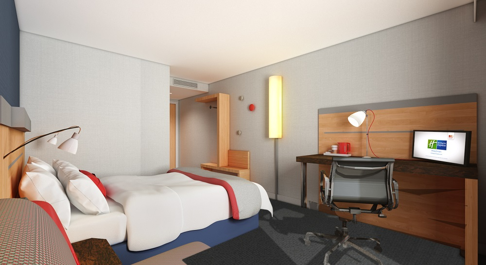 Holiday inn express cheltenham begins bedroom revamp for Hotel design 06