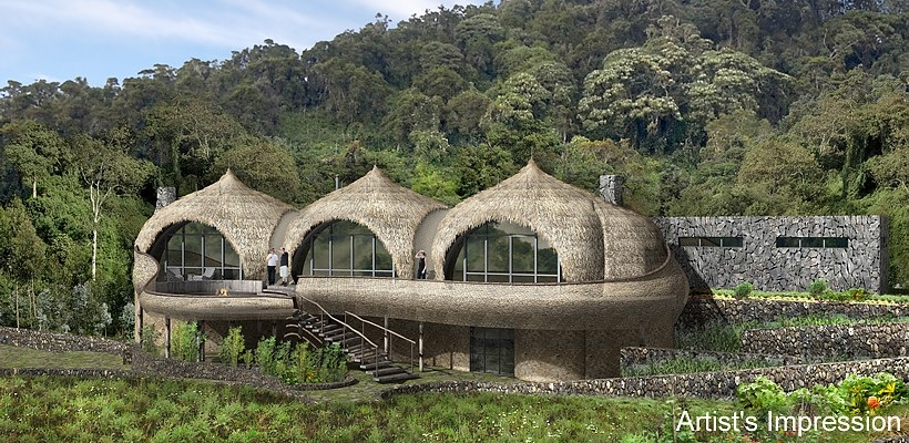 Bisate Lodge To Open In Rwanda June 2017 on Mountain Lodge Interior Design