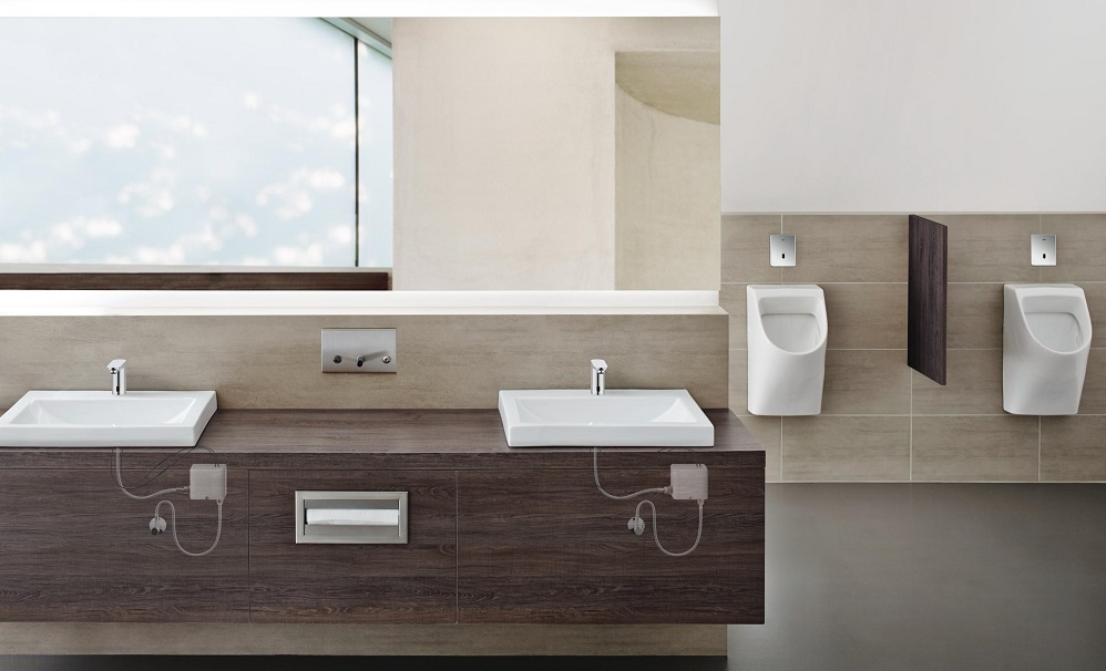 Product spotlight grohe s self sufficient powerbox for Box design hotel