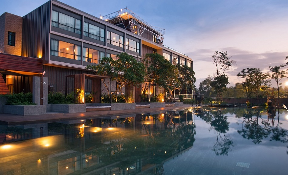 North hill city resort opens in chiang mai thailand for City hotel design