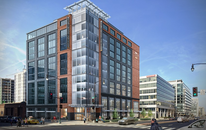Homewood suites expands presence in washington dc hotel for Hotel design washington dc