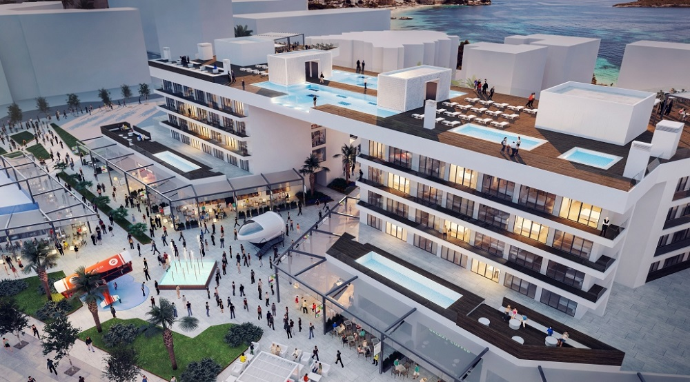 Construction Begins on Magaluf Shopping Mall & Melia Hotels International's Newest Hotel