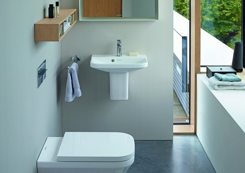 Living bathrooms from duravit at the spring ideal home for Ideal home bathroom ideas