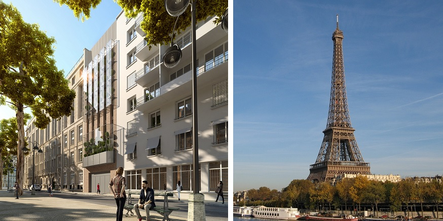 Hilton hotels resorts to open hotel in view of the for Hotels by the eiffel tower