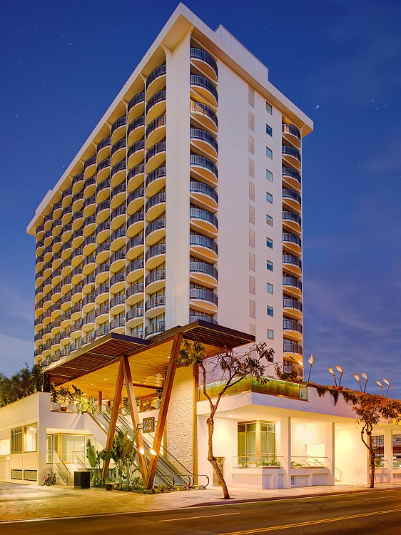 Oahu s first autograph collection hotel heralds new era in for Design hotel hawaii