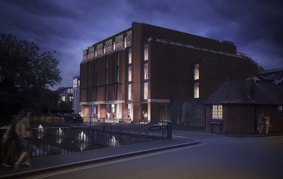Dominvs group secures planning permission for courtyard by for Design hotel oxford
