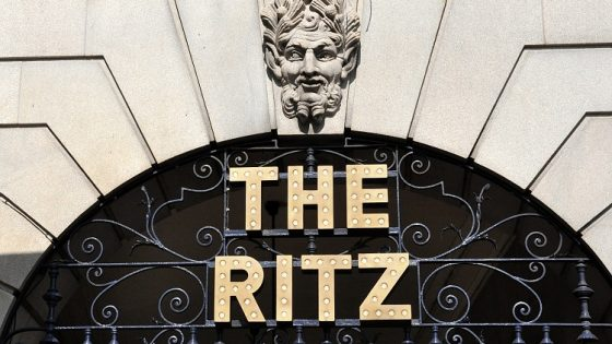 Ritz London named best hotel in Europe