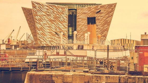 Titanic - themed hotel in Belfast