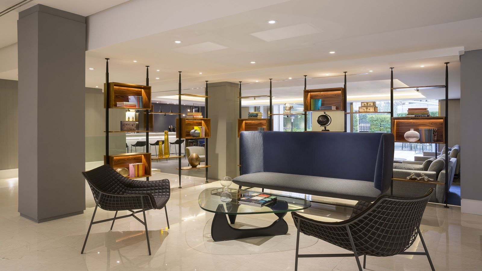 Rome welcomes back le m ridien brand hotel designs for Hotel design rome