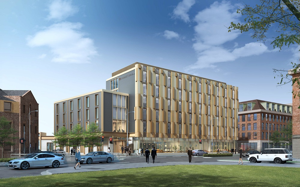 CGI of Hull DoubleTree by Hilton
