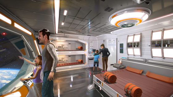 Disney reveals sneak peek at Star Wars-themed resort