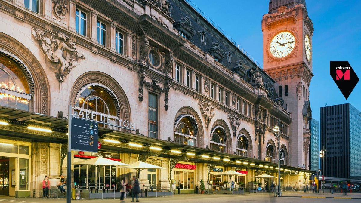 Citizenm paris gare de lyon to open august 1st hotel designs for Hotel design paris 6