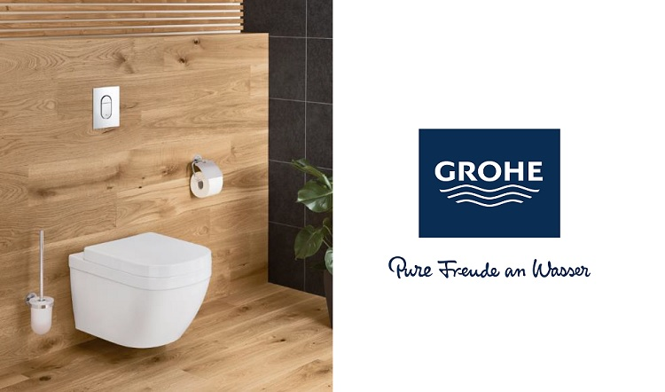 GROHE flush systems designed to combat water wastage