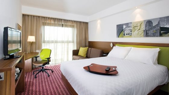 Hampton by Hilton Humberside Airport room