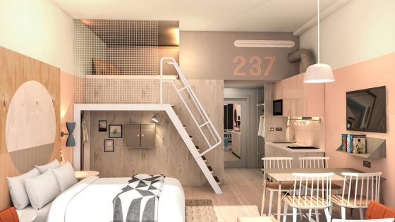 Room 2 has announced the development of a new apart-hotel in Southampton, with a focus on design, comfort and value