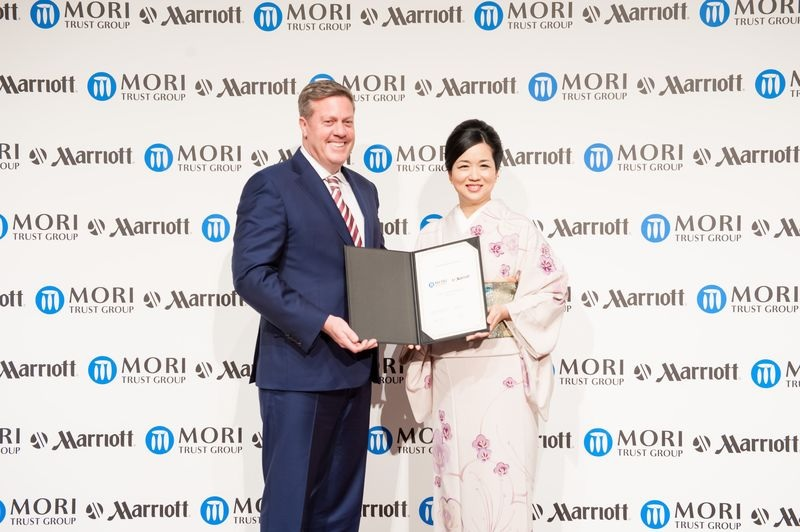 Mori Trust and Marriott