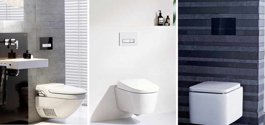 Flush plate showroom - Geberit