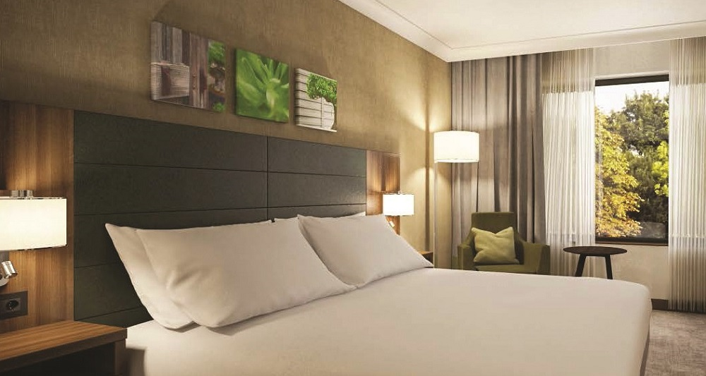 Hilton Garden Inn Sunderland - Guestroom artist's impression