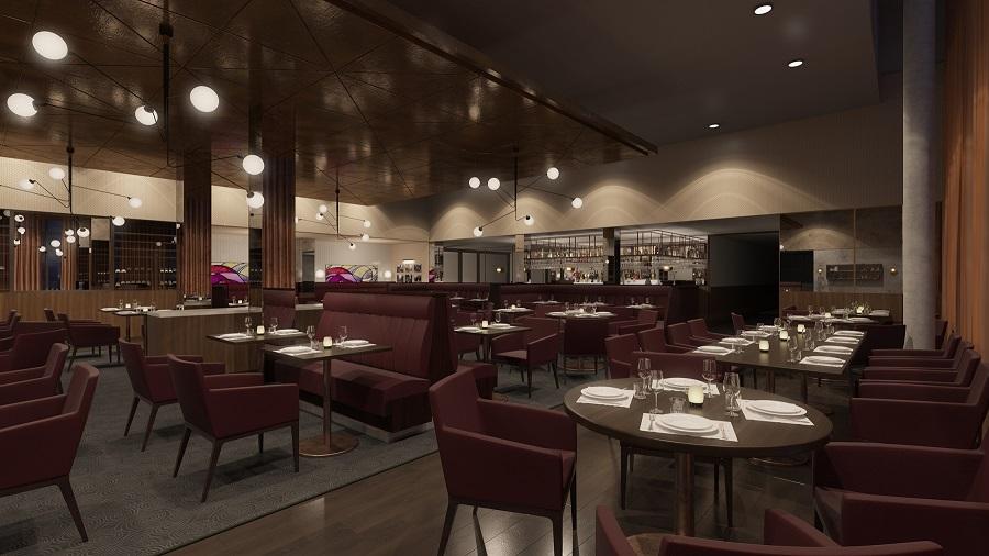 Hilton Garden Inn Sunderland - Restaurant artist's impression