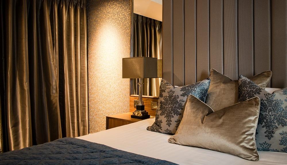 New room at Lea Marston Hotel