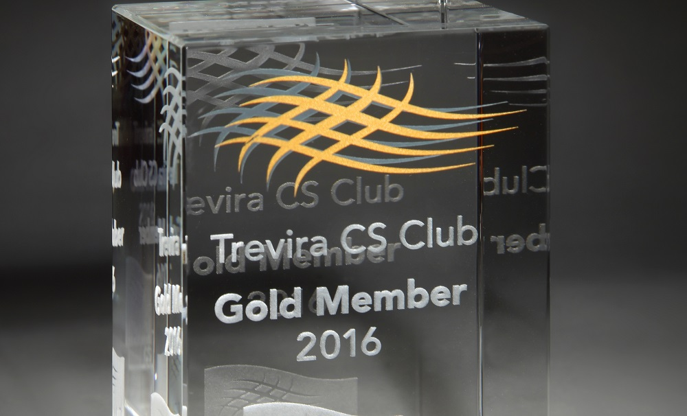 Trevira CS Club Gold Award 2016 - for Kobe
