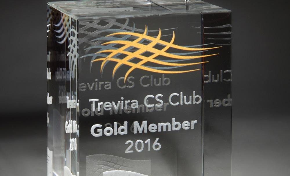 Trevira CS Club Gold Award 2016 - for Kobe