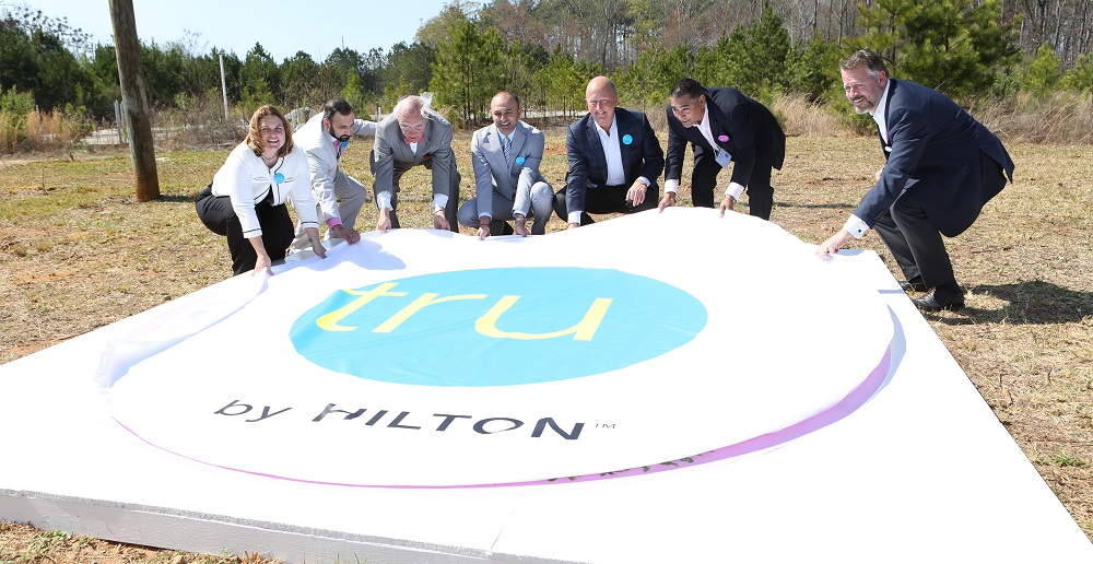 Tru By Hilton ground breaking