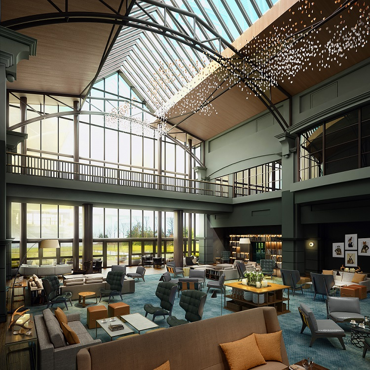 RPW Design - Fairmont St. Andrews Atrium