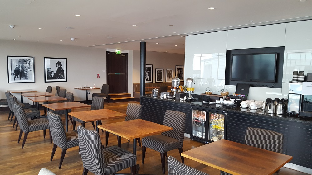Hilton London Wembley executive lounge