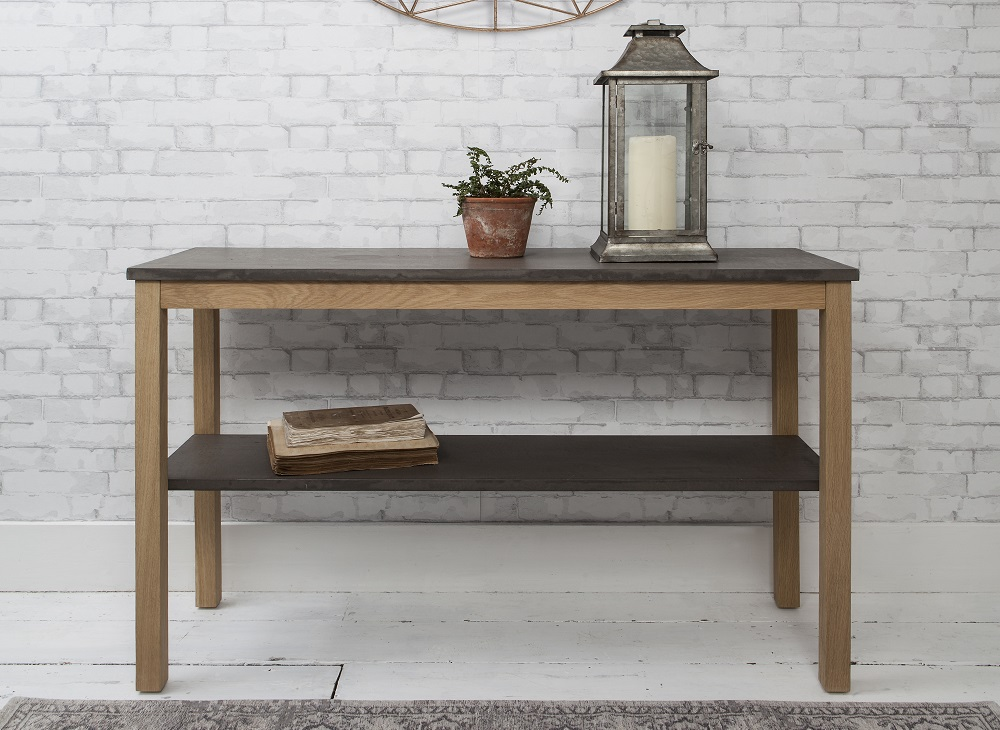 Console table in Detroit furniture range - Gallery Direct