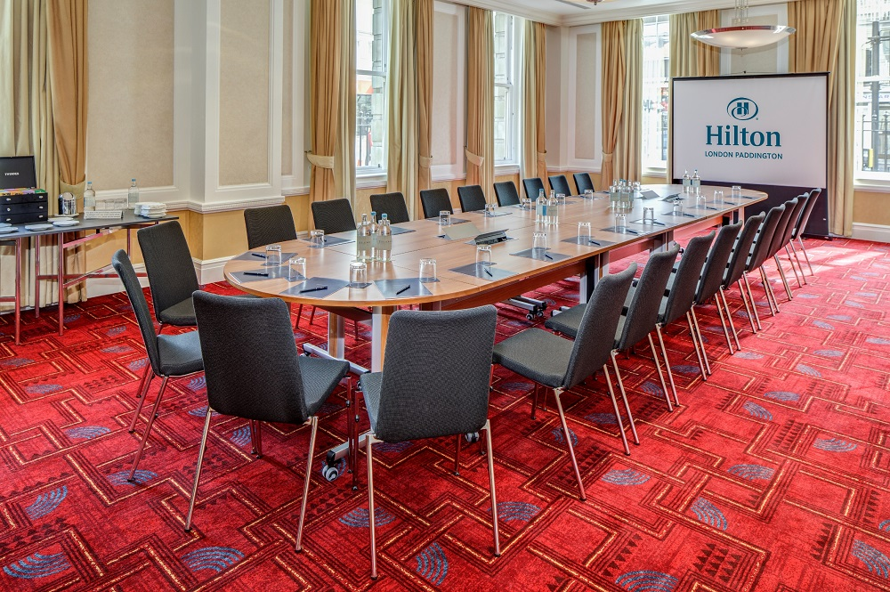 Hilton London Paddington Meeting Room