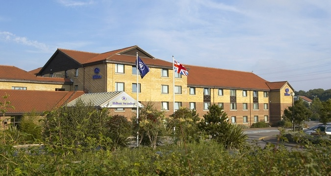 Hilton Hotels' property in Swindon