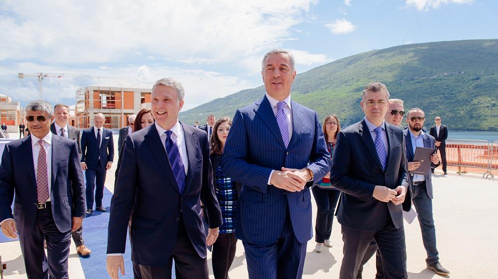 One&Only Portonovi ceremony Montenegro