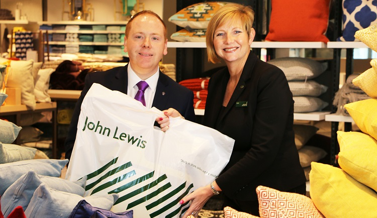 Park Regis Robin Ford with Lisa from John Lewis