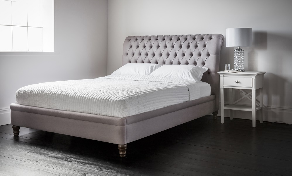 Strand Low Foot End Upholstered Bed - Gallery Direct