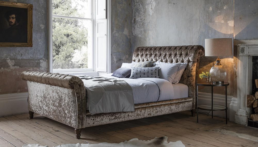 StrandUpholstered Bed - Gallery Direct