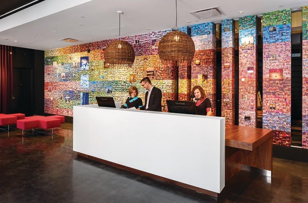 Alt Hotel Ottawa - mural by Jean-François Frenette #AltExpo