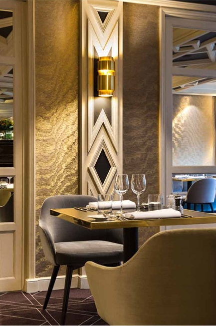 Kerylos Intérieurs gives The Avenue, Brussels a fresh new look
