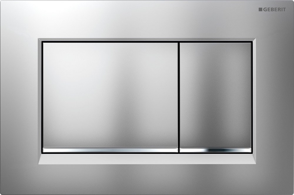 Geberit Sigma30 chrome