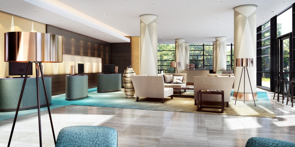 Marriott hotels debuts in german city of bonn hotel designs for Design hotel bonn