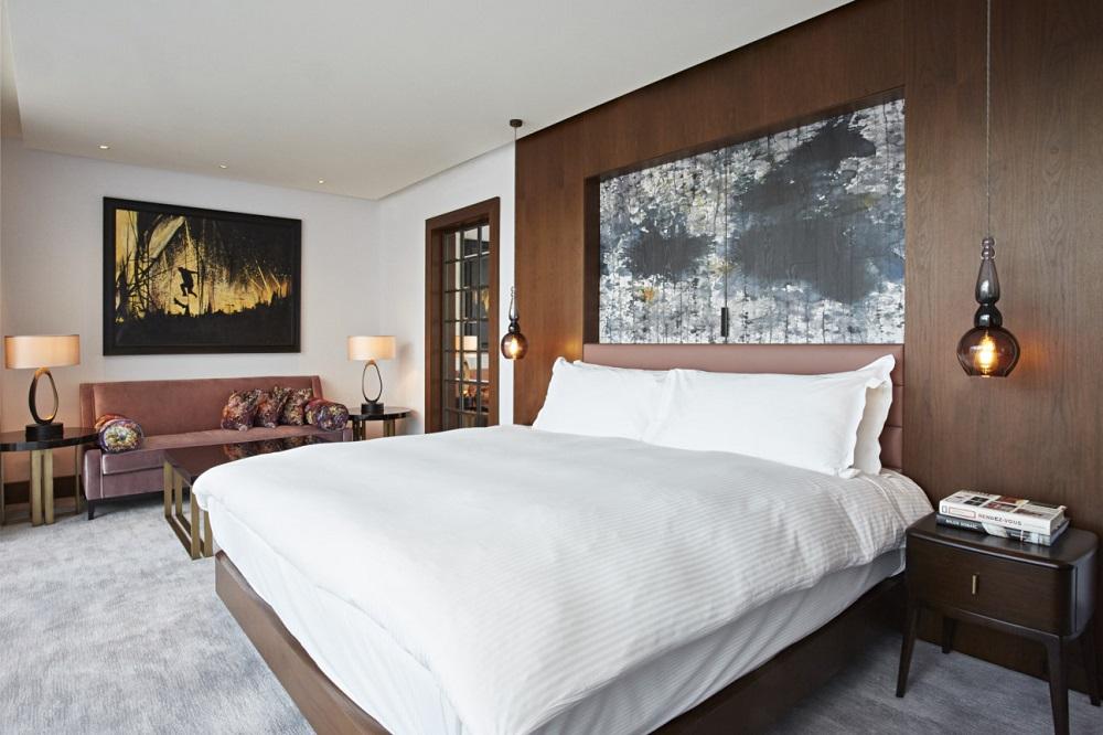 Penthouse Bedroom - Hilton London Bankside