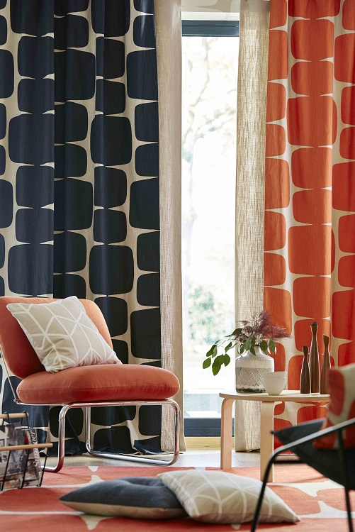 Lohko fabric range by Scion