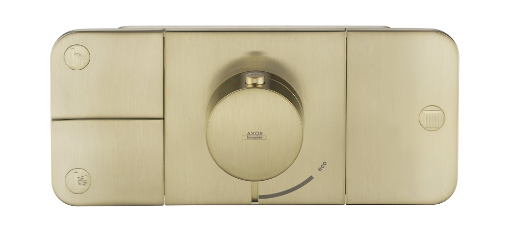 Axor One Thermostat Brushed-Brass