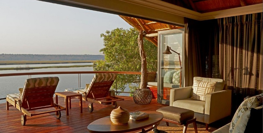 Opening on 1 July 2016, Chobe Water Villas is an exclusive and intimate lodge, accommodating guests in 16 raised villas