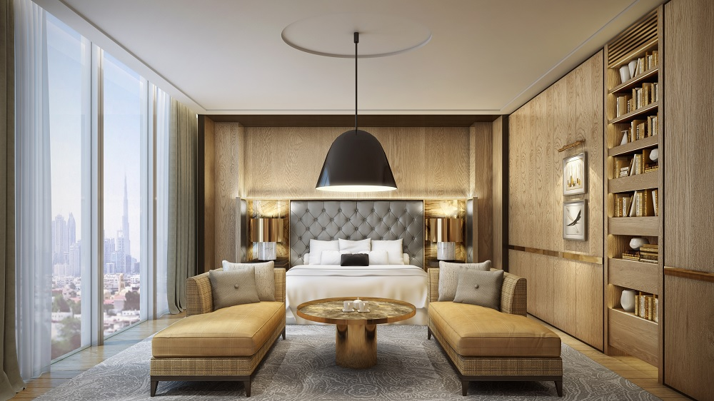 Waldorf astoria to open in dubai 39 s financial district for Hotel design 06