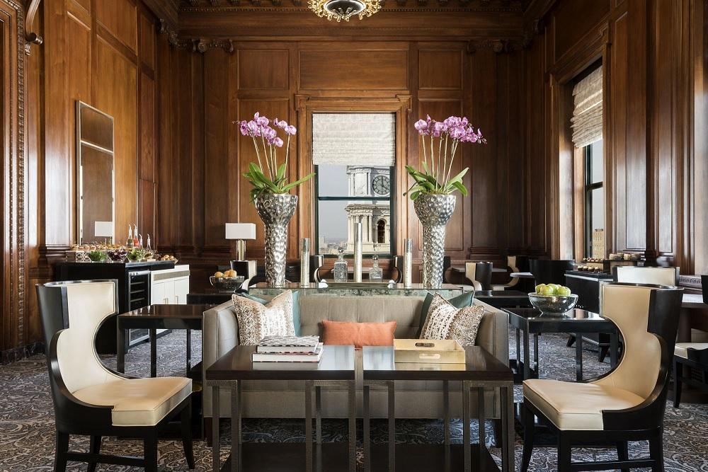 Sneak peek ritz carlton philadelphia after year long for Hotel design 2016