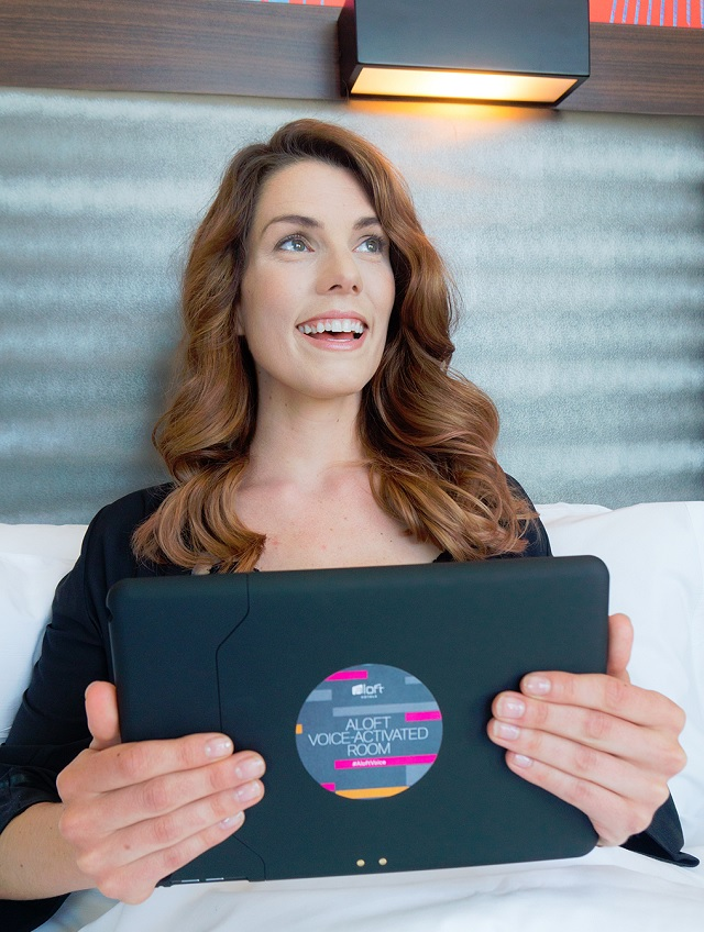 Aloft Hotels' voice-activated room technology
