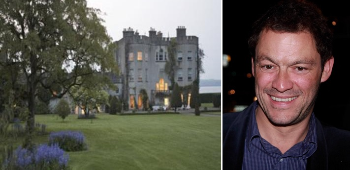 Dominic West to convert Irish castle into boutique hotel
